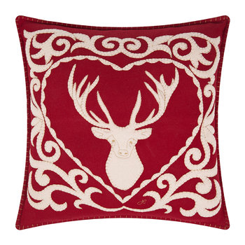 Fretwork Stag Cushion