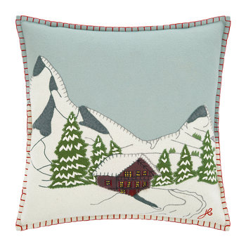 Alpine Chalet Cushion