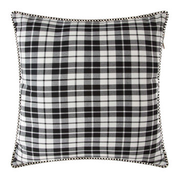 Yuletide Plaid Pillow - 50x50cm