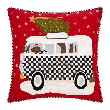 Home For The Holidays Pillow - 50x50cm