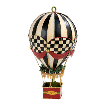Up, Up and Away Hot Air Balloon Tree Decoration