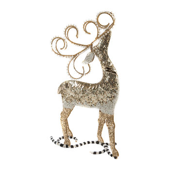 Silver Lining Deer Decorative Ornament
