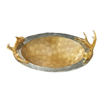 Antler Bowl - Toffee
