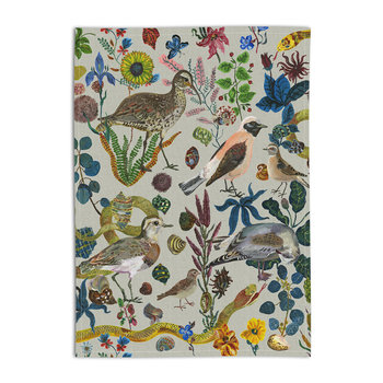 Nathalie Lete Birds in the Dunes Tea Towel