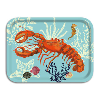 Nathalie Lété At The Beach Tray - Lobster