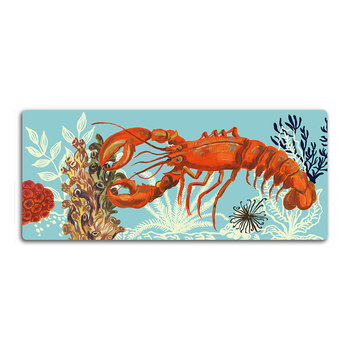 Nathalie Lété At The Beach Cutting Board - Lobster