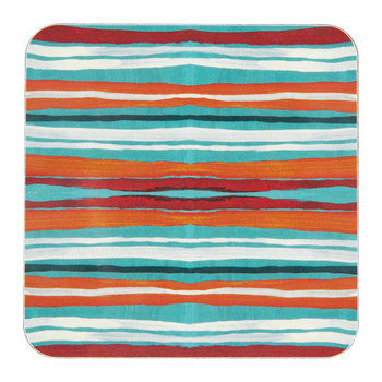 Nathalie Lété At The Beach Coaster - Seashore Stripe