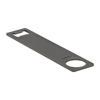 Luxe Barman's Bottle Opener - Gunmetal