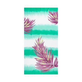 Borabora Beach Towel - Emerald/Palm Purple