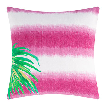 Borabora Pillow - 45x45cm - Pink/Palm Green/Yellow