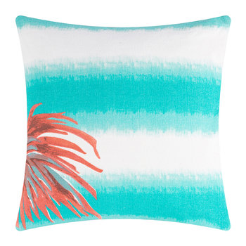 Borabora Pillow - 45x45cm - Lagoon/Palm Coral