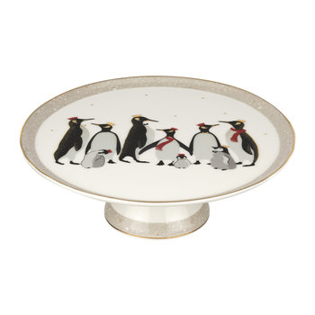 Christmas Penguin Cake Stand