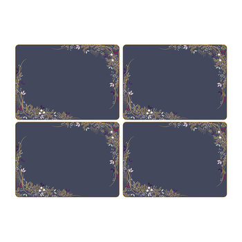 Christmas Garland Placemats - Set of 4