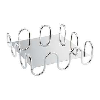 Kyma Decorative Tray - Stainless Steel - Square