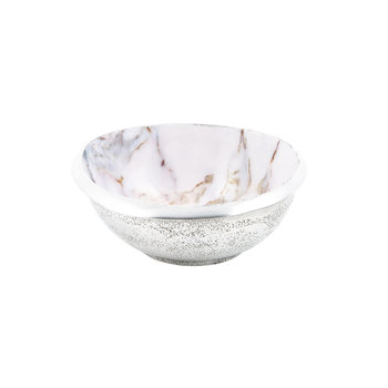 Eclipse Bowl - Marble Rose