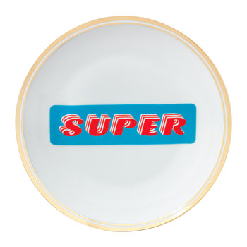 Funky Table Plate - Super - 17cm