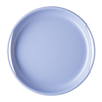 Ring Metal Tray - 28cm - Cerulean