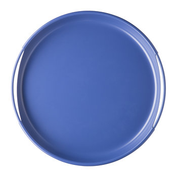 Ring Metal Tray - 35cm - Cornflower