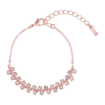 Edolii Princess Sparkle Bracelet - Rose Gold