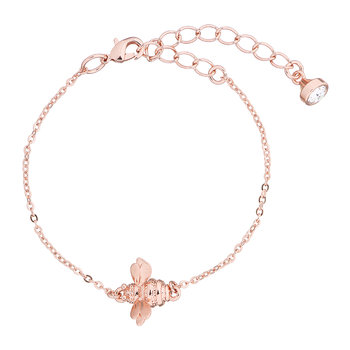 Bracelet Bourdon Beedina - Or Rose Brossé