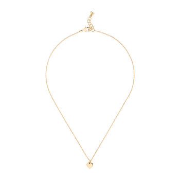 Harly Tiny Heart Pendant Necklace - Gold