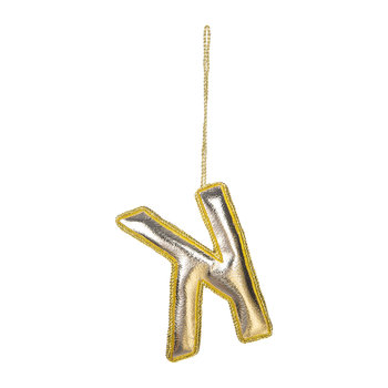 Letter Christmas Tree Decoration - K