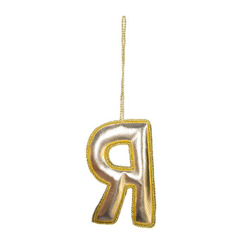 Letter Christmas Tree Decoration - R