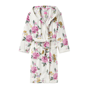 Rita Cream Chinoise Dressing Gown