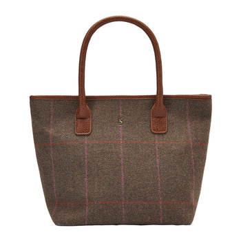 Carey Tweed-Henkeltasche - Robuster Tweed