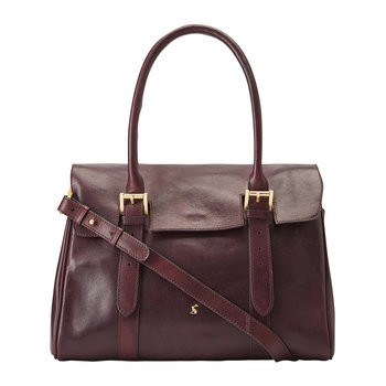 Durham Leather Tote Bag - Oxblood