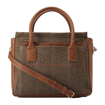 Day To Day Tweed-Schultertasche - Robuster Tweed
