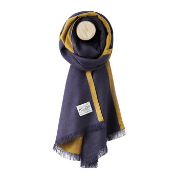 Luxton Knitted Scarf - French Navy