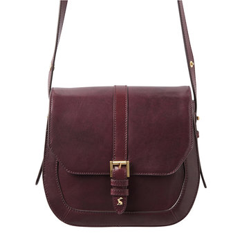 Leather Saddle Bag - Oxblood