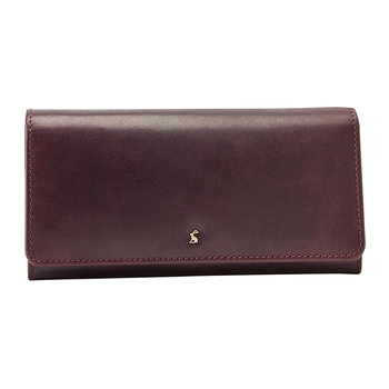 Tally Leather Purse - Oxblood