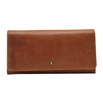 Tally Leather Purse - Tan