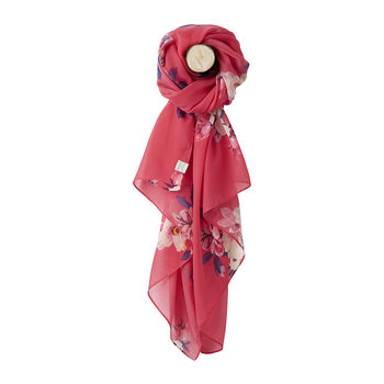 Wensley Scarf - Raspberry Bircham Bloom