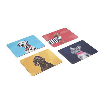 Pawcasso Placemats - Set of 4