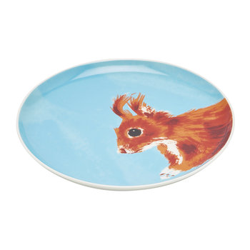 Wild Thing Tea Plate - Squirrel