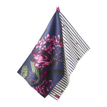Thea Tea Towels - Set of 2 - Artichoke Floral