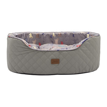 Slumber Pet Bed - Gray Par-Tea Dogs