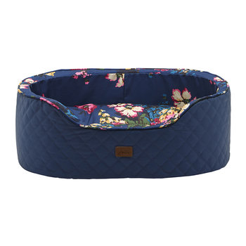 Slumber Pet Bed - Navy Cambridge Floral
