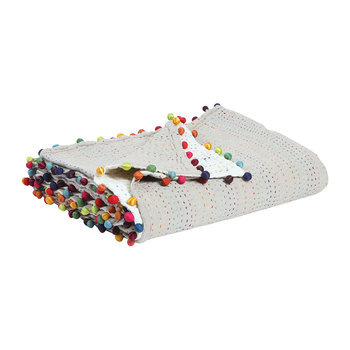 Gastounet Throw - 180x180cm - Multicolored