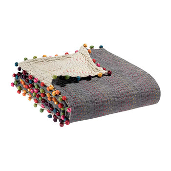 Gastounet Throw - 180x180cm - Thunder/Multicolored