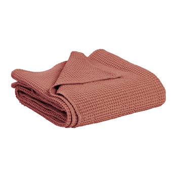 Maia Stonewashed Throw - Blush