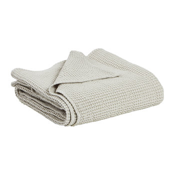 Maia Stonewashed Throw - Linen