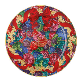 Reflections of Holidays Limited Edition Christmas Plate