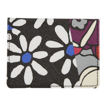 Richard Quinn Daisy & Tulip Travel Card Holder