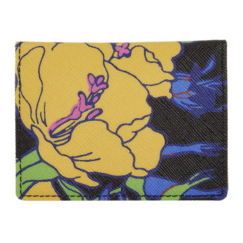 Richard Quinn Phlox Travel Card Holder