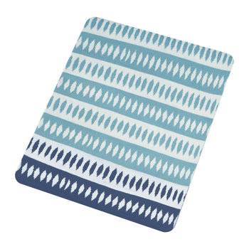 Noukku Knitted Throw - Marine