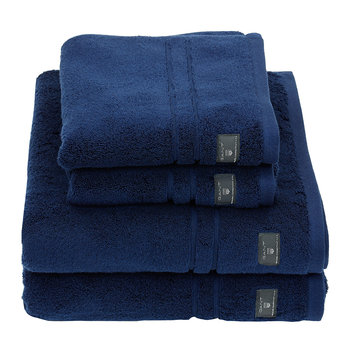 Premium Terry Towel - Hurricane Blue
